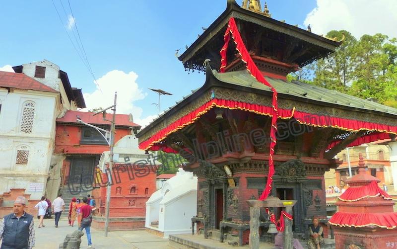 nepal inside the pashupati temple small