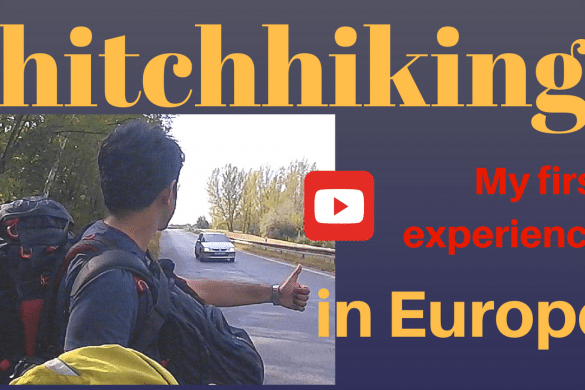 Hitchhiker in europe