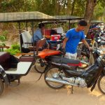 tuktuk in Siem Reap