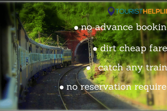 cheapest train ticket Indian railways