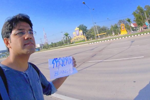 HitchHiking in Thailand
