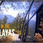 Exploring Himalayas in Himachal Roadways bus