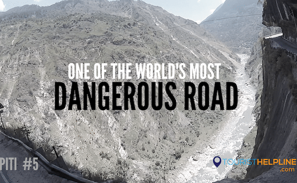 Kinnaur One of the World's Most Dangerous Roads