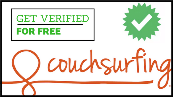 Couchsurfing Verification free