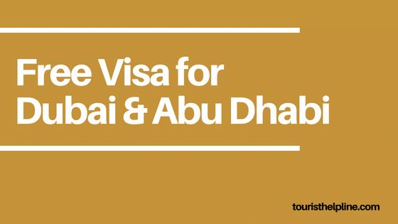 free UAE visa