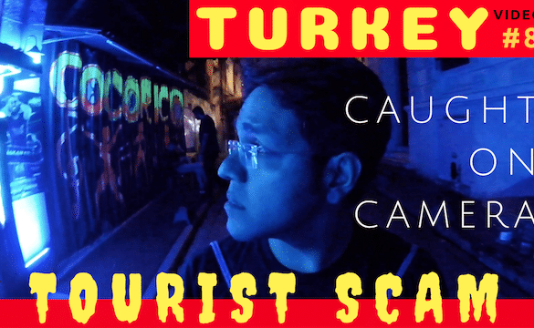 Tourist Scam in Istanbul