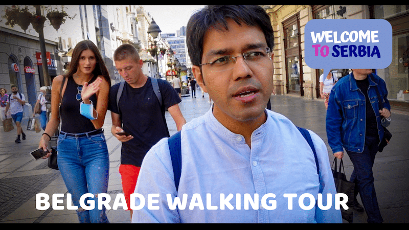 belgrade walking tour